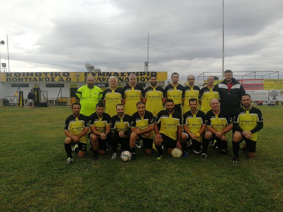 Βετ.Ποντιακού F.C. 2018-2019
